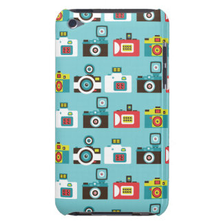 Toy Cameras Blue iPod Touch Case-Mate Case