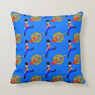 Toy Canon Royal Toy Soldier patterned Throw Pillow