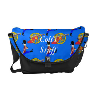 Toy Canon Toy Soldier Child's Messenger Bag