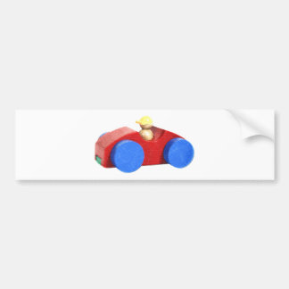 Toy Car Bumper Sticker