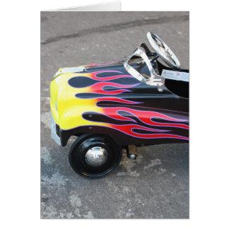 Toy Car Notecard