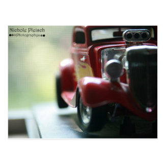 Toy Car Postcard