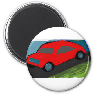 toy carro ride magnet