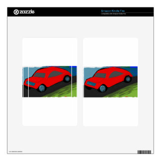 toy carro ride skins for kindle fire