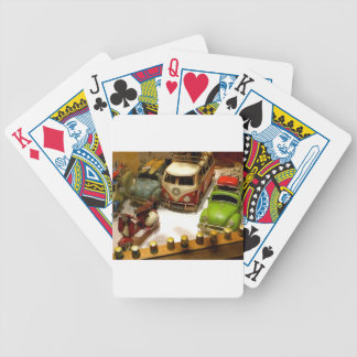 """""""Toy cars"""" Bicycle Playing Cards"""
