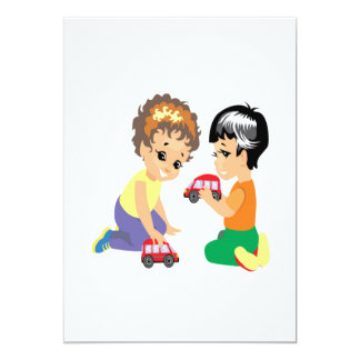 Toy Cars Card