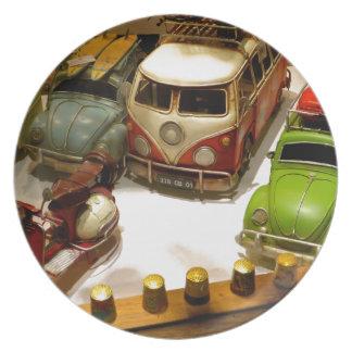"""Toy cars"" Melamine Plate"