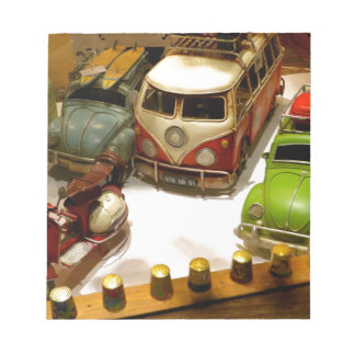 """""""Toy cars"""" Notepad"""
