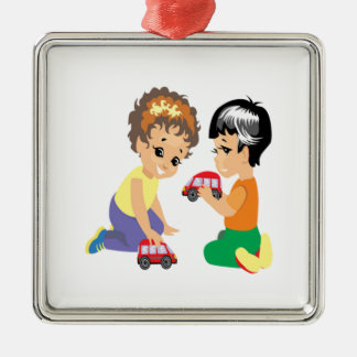 Toy Cars Christmas Ornament
