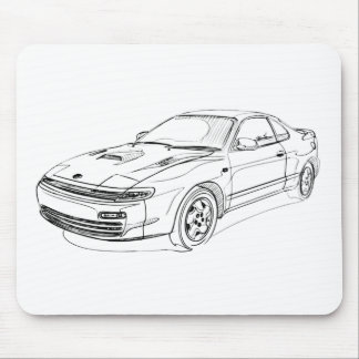 Toy Celica GT4 1990 Mouse Pads