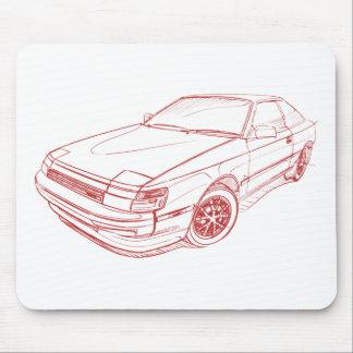 Toy Celica SX liftback 1985-1987 Mouse Pad
