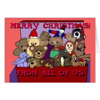Toy Chest Merry Christmas from All of Us Card
