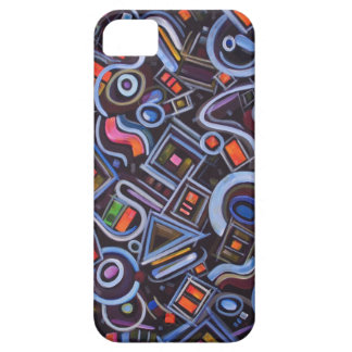 Toy Chest Playful Geometric Abstract iPhone SE/5/5s Case