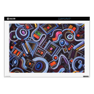 Toy Chest Playful Geometric Abstract Laptop Decals
