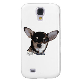 Toy Chihuahua Black and Tan Samsung S4 Case