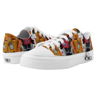 Toy Classic Robot Printed Shoes