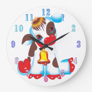 Toy Cow Wall Clock