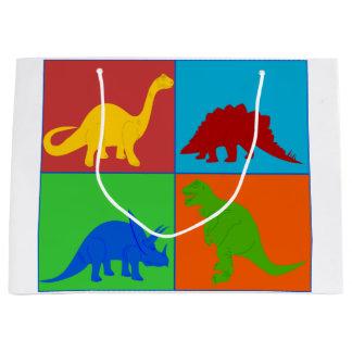 Toy Dinosaur Gift Bag