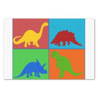 """Toy Dinosaur Tissue Paper 10"""" X 15"""" Tissue Paper"""