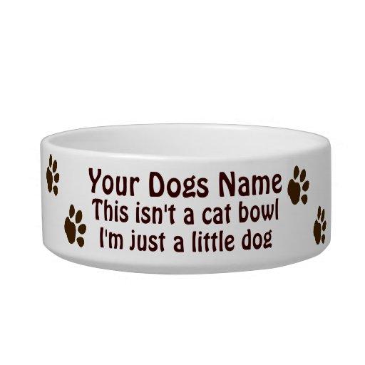 Toy Dog Bowl
