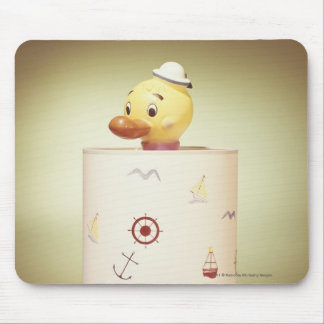 Toy duck lamp mouse pad