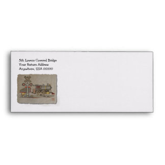 Toy Electric Train Envelope