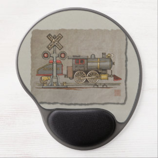 Toy Electric Train Gel Mouse Pad