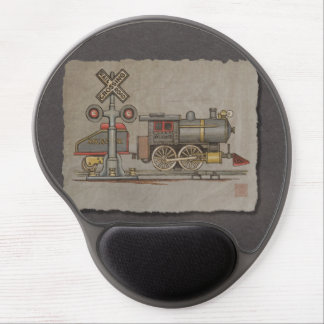 Toy Electric Train Gel Mouse Pads