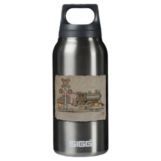 Toy Electric Train Insulated Water Bottle