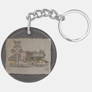 Toy Electric Train Keychain