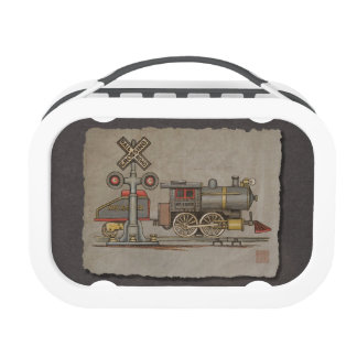 Toy Electric Train Lunchbox