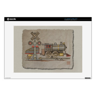 Toy Electric Train Laptop Decals