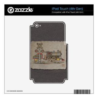 Toy Electric Train iPod Touch 4G Decals