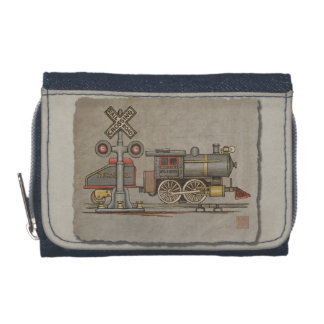 Toy Electric Train Wallet