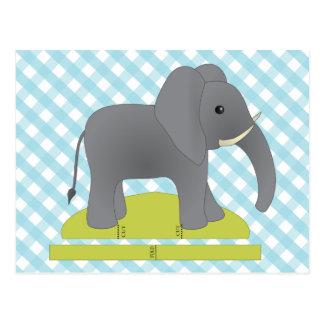 Toy Elephant Postcards