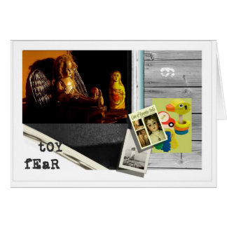 Toy Fear Greeting Cards