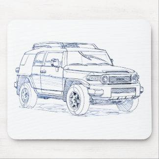 Toy FJ Cruiser Mouse Pad