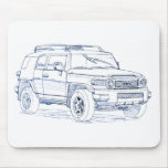 Toy FJ Cruiser Mouse Pads