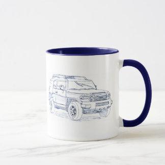 Toy FJ Cruiser Mug