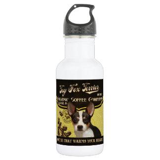 Toy Fox Terrier Brand – Organic Coffee Company Water Bottle