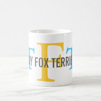 Toy Fox Terrier Breed Monogram Classic White Coffee Mug