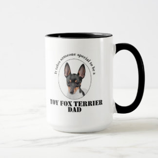 Toy Fox Terrier Dad Mug