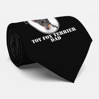 Toy Fox Terrier Dad Tie