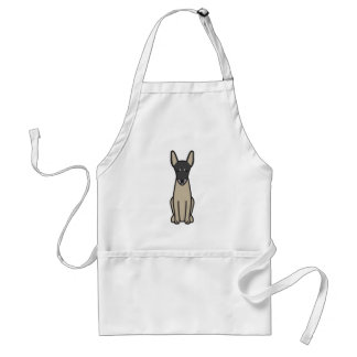 Toy Fox Terrier Dog Cartoon Aprons