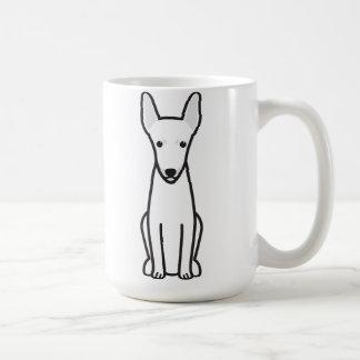 Toy Fox Terrier Dog Cartoon Coffee Mug