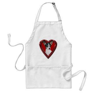 Toy Fox Terrier Heart Apron