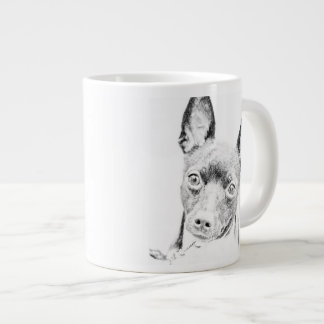 Toy Fox Terrier Large Coffee Mug