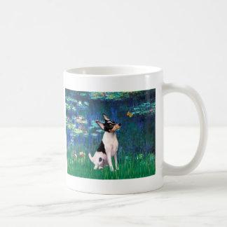 Toy Fox Terrier - Lilies 5 Coffee Mug