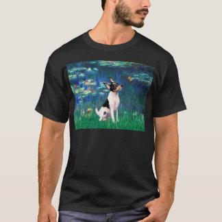 Toy Fox Terrier - Lilies 5 T-Shirt