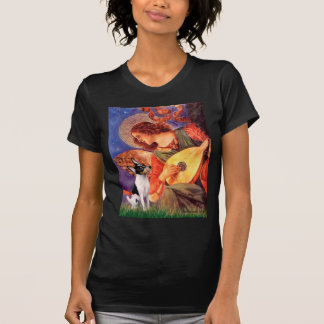 Toy Fox Terrier - Mandolin Angel T-Shirt